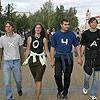 Акция «Хочам вучыцца па беларуску» на площади Я. Колоса[Нажмите для увеличения]